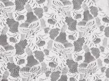 Стрейч-гипюр CHRISANNE (Англия) белый (cascade white)