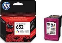 Цветной картридж hp 652 dj ink advantage 1115/2135/ 3635/3835 color (f6v24ae)
