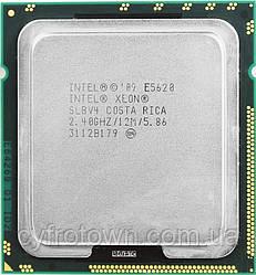 Процессор Intel XEON Quad Core E5620 2.4 GHz/12M s1366 4ядра 8 потоков
