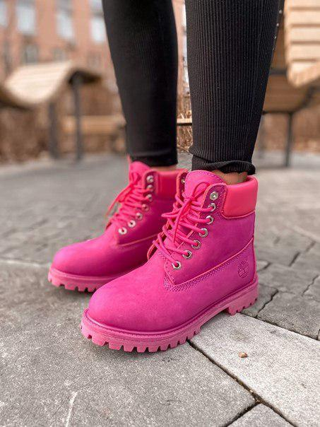 Ботинки женские TIMBERLAND Purple Fur