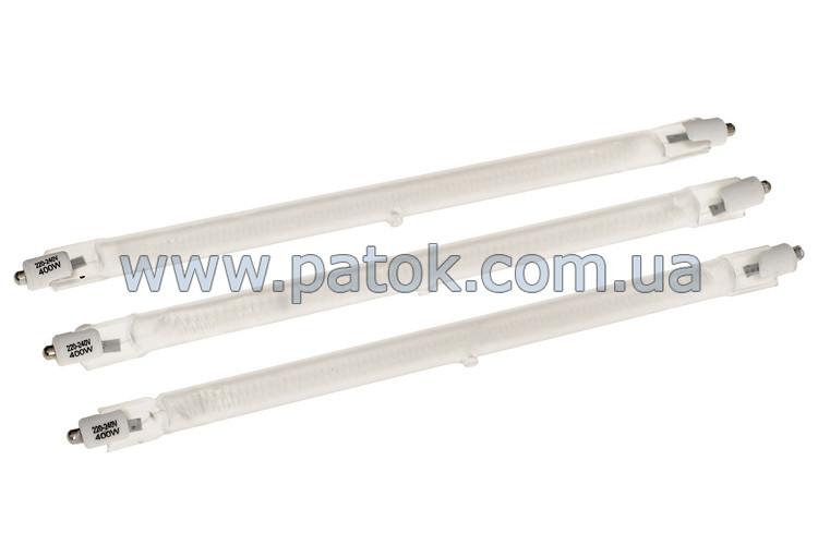 Комплект универсальных ламп для инфракрасного обогревателя 400W L=200mm