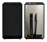 Дисплей (экран) Doogee S60, S60 liteс тачскрином в сборе, черный