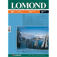 Матовая двухстороняя фотобумага lomond 170 гр/м a4*25 листов (0102037)