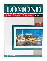 Глянцевая фотобумага lomond 85 гр/м a4*100 листов (0102145)