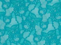 Стрейч-гипюр CHRISANNE (Англия) морская волна (cascade blue zircone)