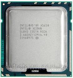 Процесор Intel XEON Quad Core X5650 2.66 GHz/12M s1366 6ядер 12 потоків