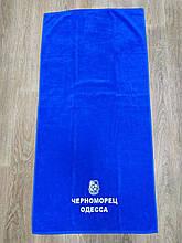 Полотенце махровое банное с символикой ФК Черноморец