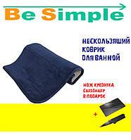 Нескользящий коврик для ванной (size 58X38)