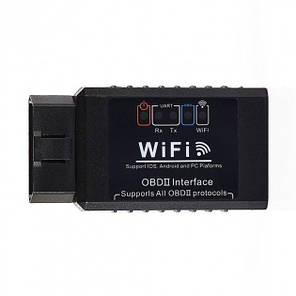 Автомобильный сканер автосканер диагностики авто OBD2 HLV ELM327 WI-FI IOS Android 1.5v OBDII PIC 18k25k80, фото 2
