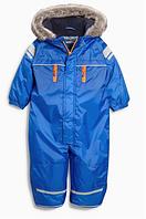 Синий практичный зимний костюм (от 3 мес. до 6 лет) Next