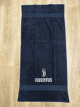 Полотенце махровое банное с символикой FC Juventus.