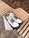 Женские ботинки Dr. Martens White Plarform, фото 4
