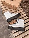Женские ботинки Dr. Martens White Plarform, фото 8
