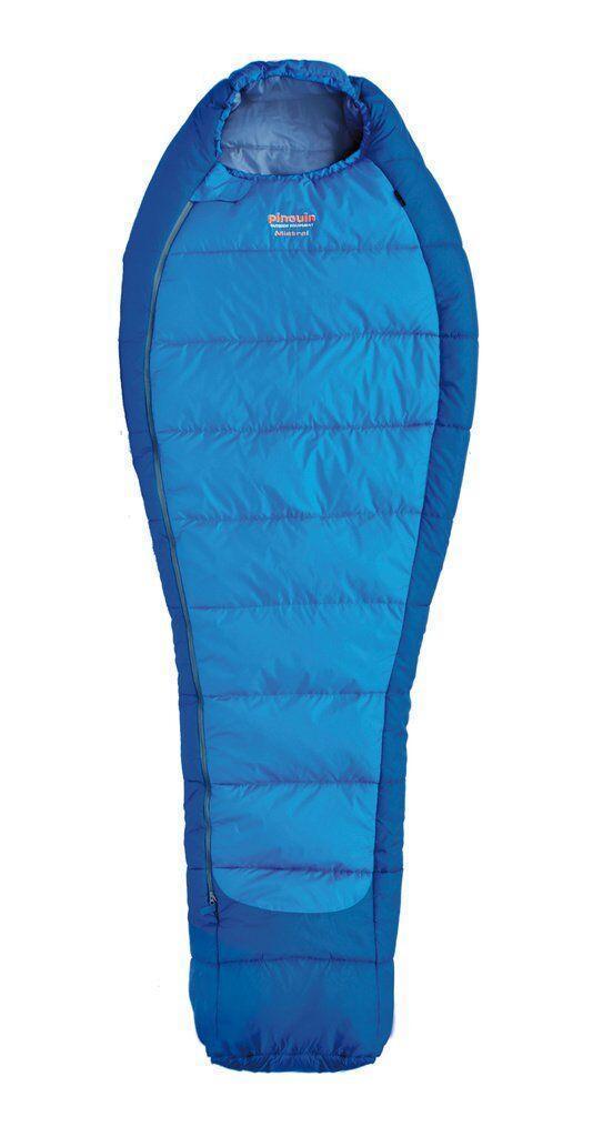 Спальный мешок Pinguin - Mistral 195 Blue Справа (R)