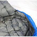 Спальный мешок Pinguin - Mistral 195 Blue Справа (R), фото 2