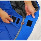 Спальный мешок Pinguin - Mistral 195 Blue Справа (R), фото 3