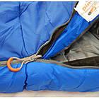 Спальный мешок Pinguin - Mistral 195 Blue Справа (R), фото 4