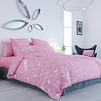 Полуторний постільний комплект Unikorn pink (рожевий єдиноріг) 70х70, ТЕП