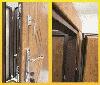 """Входная металлическая полуторная дверь """"Портала"""" (Комфорт) ― модель Квадро, фото 2"""