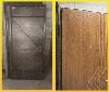 """Входная металлическая полуторная дверь """"Портала"""" (Комфорт) ― модель Квадро, фото 3"""