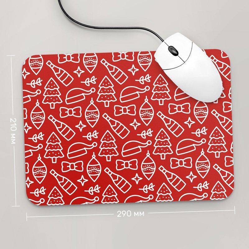Коврик для мыши 290x210 С Новым Годом , №94