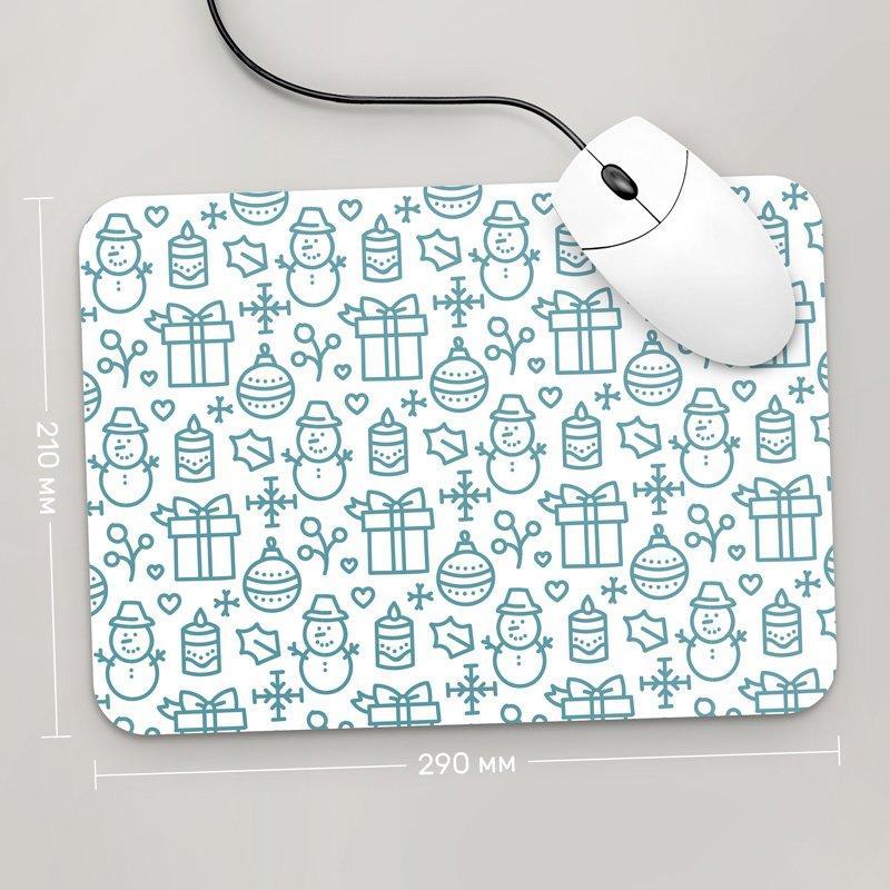 Коврик для мыши 290x210 С Новым Годом , №92