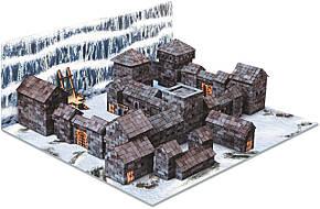 Черный замок Игра престолов керамический конструктор | 1530 деталей | Країна замків та фортець