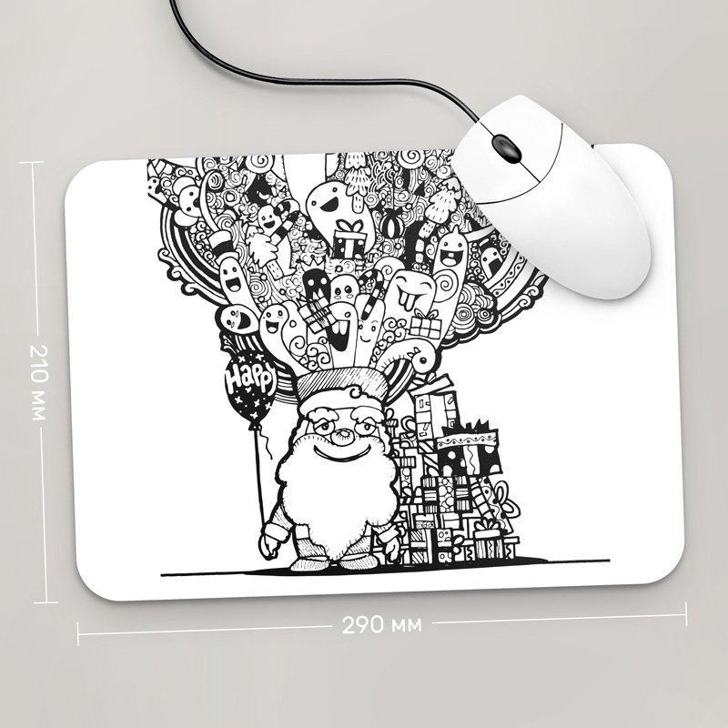 Коврик для мыши 290x210 С Новым Годом , №73