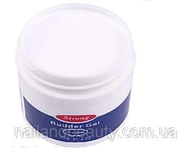 Гель IBDдля наращивания ногтей 56 гр. White (Белый)