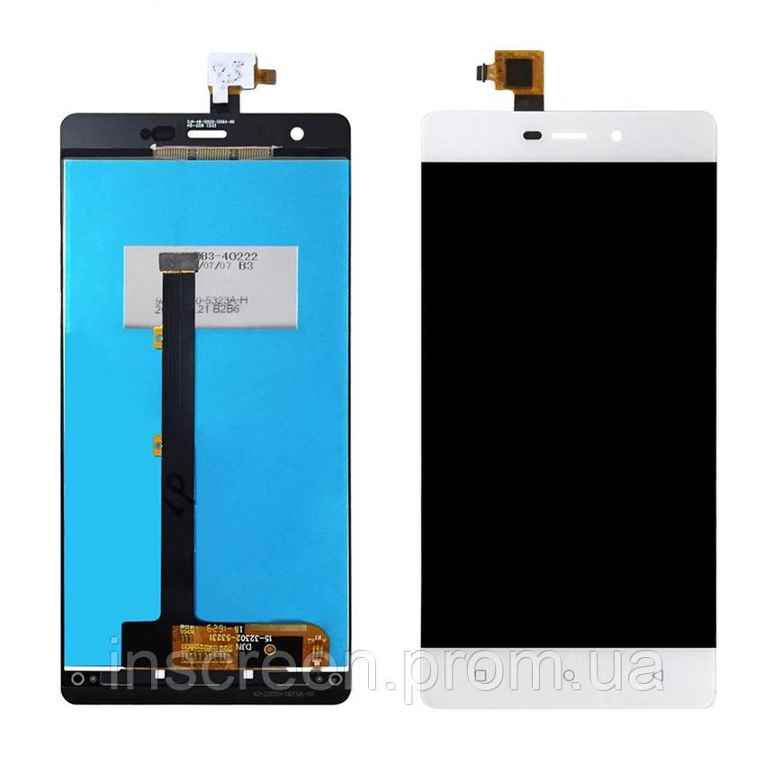 Дисплей Nomi i506 Shine з сенсором (тачскрін) білий, фото 2