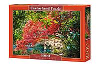 """Пазлы 1000 элементов """"Японский сад"""", С-103768   Castorland"""
