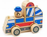 Автомобиль конструктор каталка деревянная |