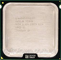 Процесор Intel XEON 5150 2.66 GHz/4M s771 2ядра потоку 2