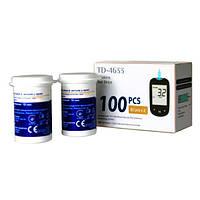 Тест полоски для измерения уровня β кетонов в крови TD-4633