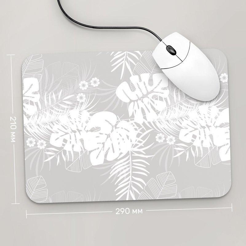 Коврик для мыши 290x210 Цветы №69 (растения, цветы, флора, узоры)