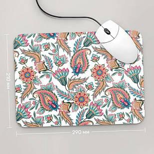 Коврик для мыши 290x210 Цветы №66 (растения, цветы, флора, узоры)