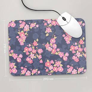 Коврик для мыши 290x210 Цветы №59 (растения, цветы, флора, узоры)