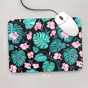 Коврик для мыши 290x210 Цветы №53 (растения, цветы, флора, узоры)