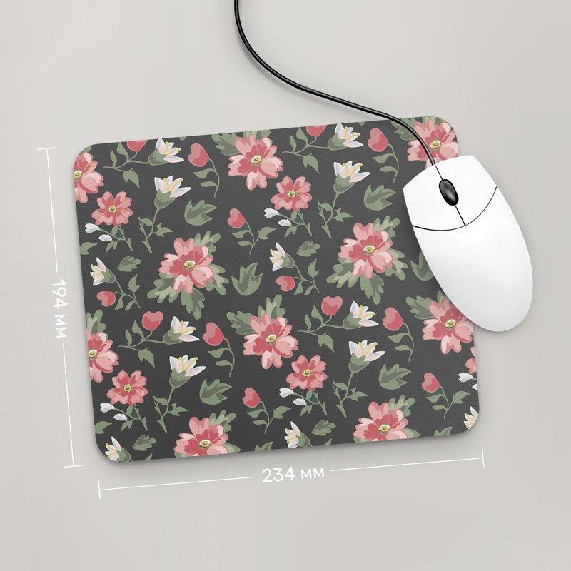 Коврик для мыши 234x194 Цветы №52 (растения, цветы, флора, узоры)