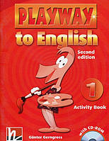 Playway to English 1. Activity Book. Second Edition (+ CD-ROM)