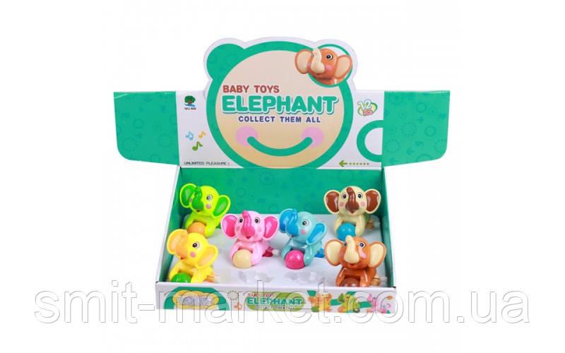 Заводные слоники (12шт)