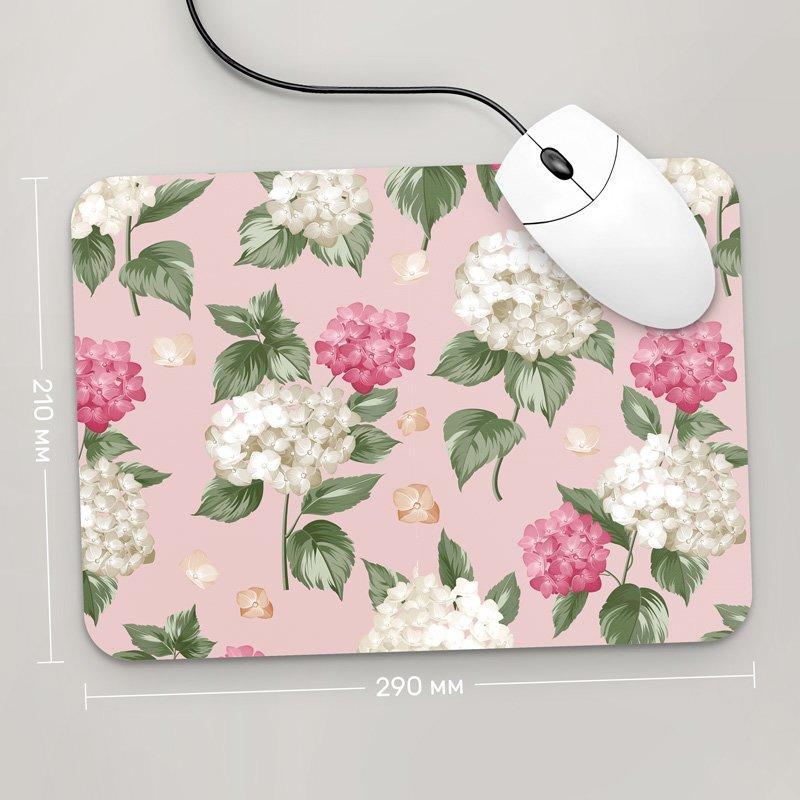 Коврик для мыши 290x210 Цветы №20 (растения, цветы, флора, узоры)