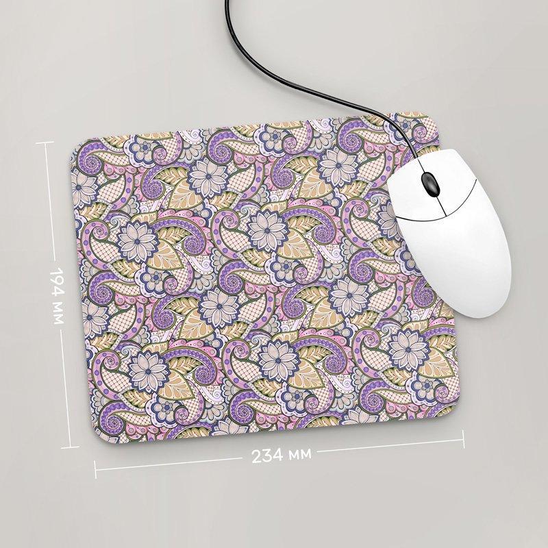 Коврик для мыши 234x194 Цветы №15 (растения, цветы, флора, узоры)