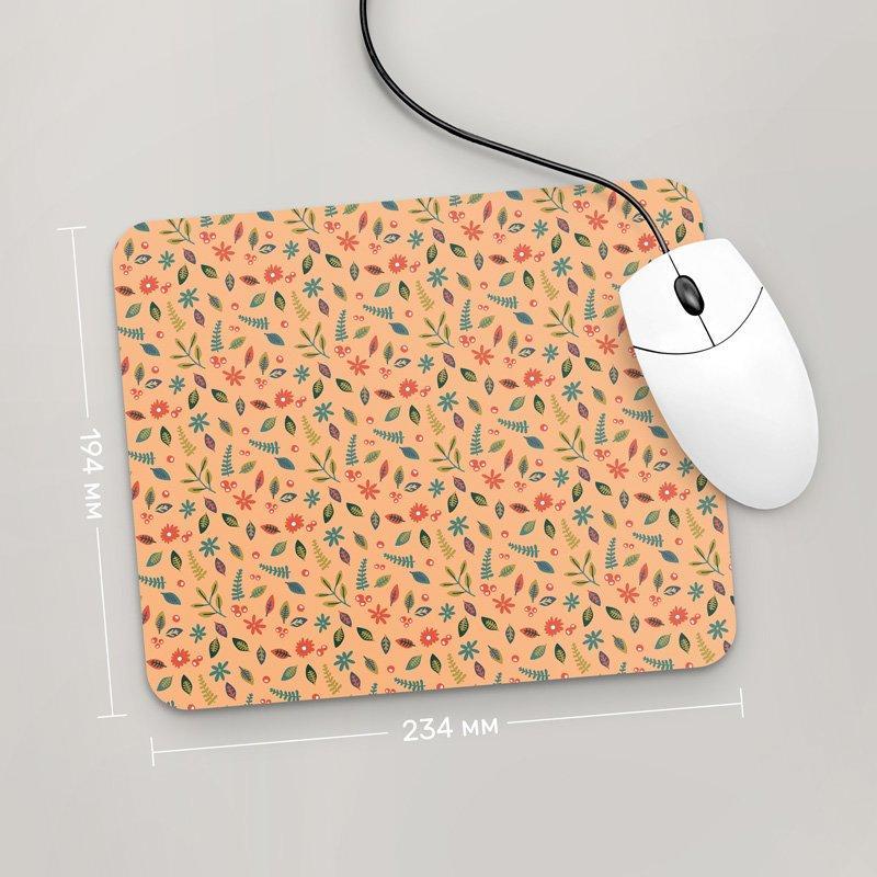 Коврик для мыши 234x194 Цветы №13 (растения, цветы, флора, узоры)