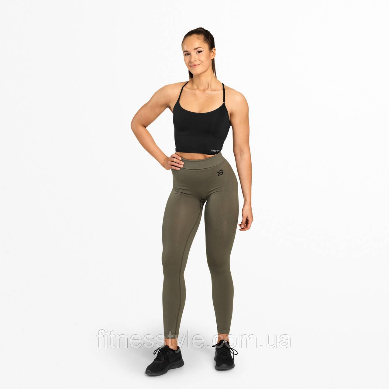 Спортивные лосины Better Bodies Rockaway tights, Wash Green