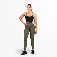 Спортивные лосины Better Bodies Rockaway tights, Wash Green, фото 1
