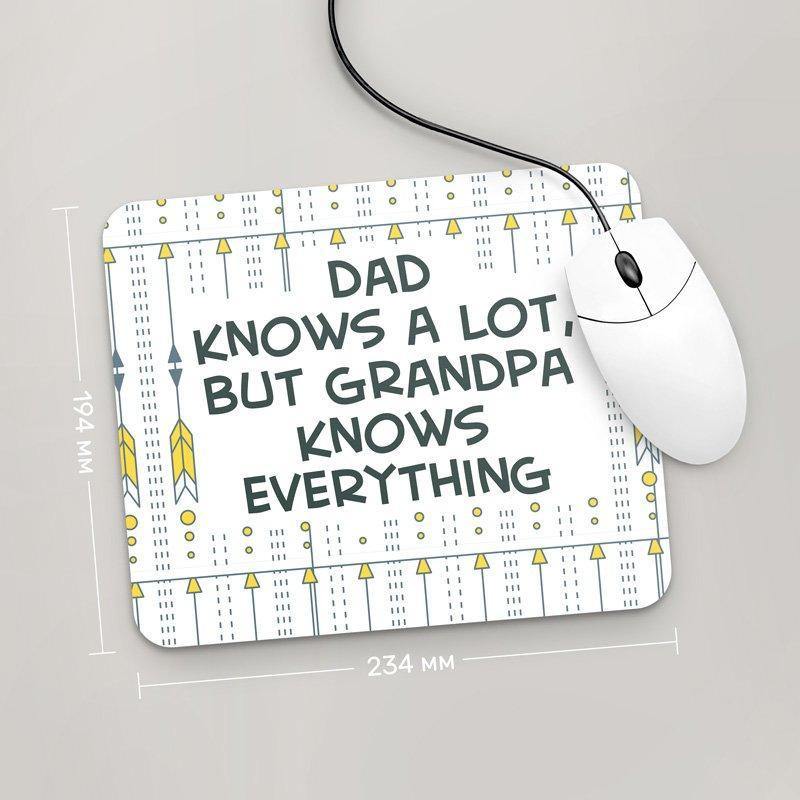 Коврик для мыши 234x194 For Grandpa