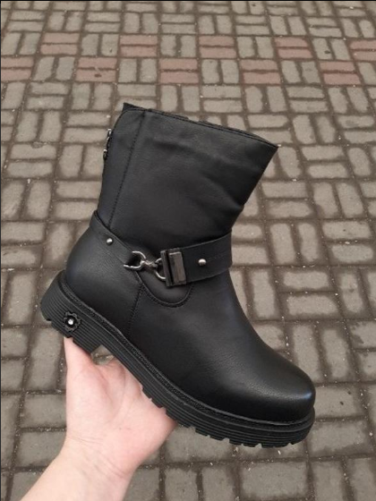 Женские зимние ботинки на меху 38 размер Бесплатная доставка Justin!