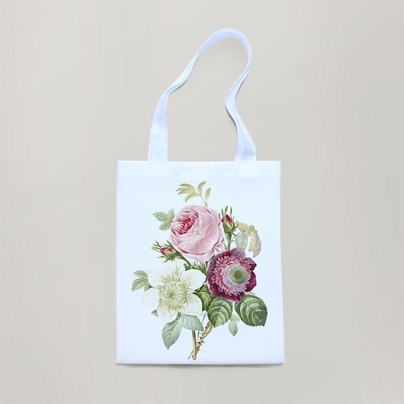 Экосумка Цветы, Роза