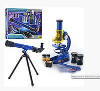 Детский телескоп с микроскопом 2 в 1